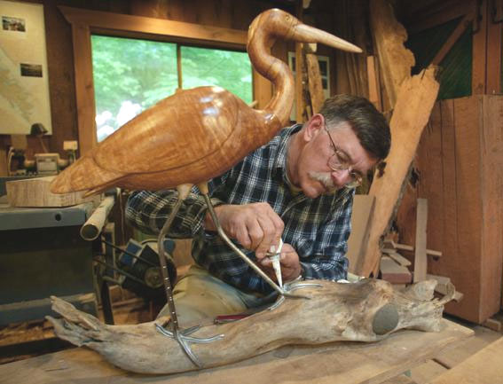 Bird Carving Website Index Rand Jack Of Deming Washington
